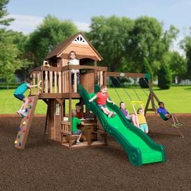 Wood Playsets Amp Swing Sets At Lowes Com