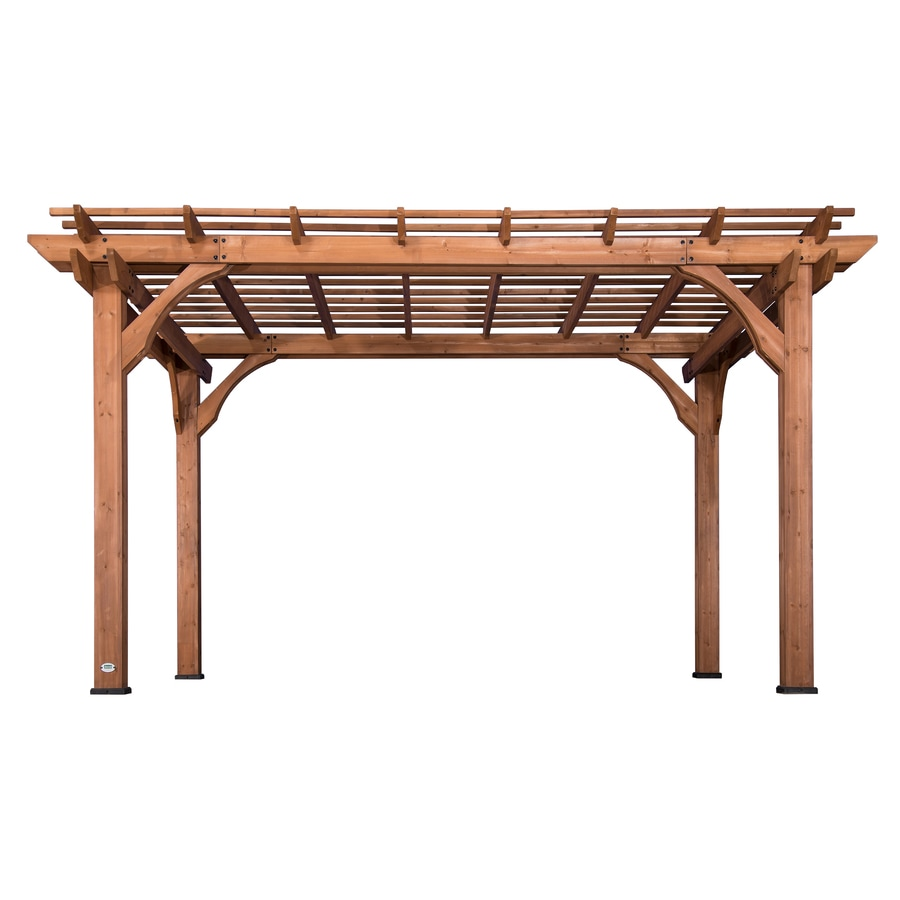 10 Ways To Create A Backyard Oasis: Backyard Discovery 10' X 14' Pergola 120-in W X 168-in L X