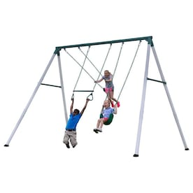 Swing Set Metal Playsets Sets At Lowes