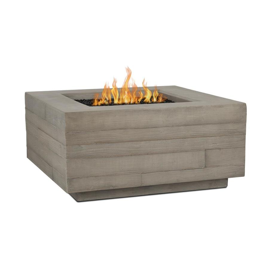 Real Flame Board Form 36 In W 65000 Btu Concrete Gray Portable Composite Propane Gas Fire Table In The Gas Fire Pits Department At Lowes Com