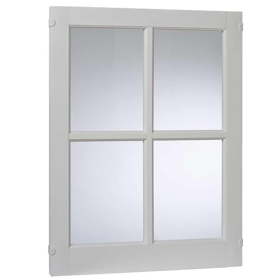 Project Source 22.25-in x 29.25-in Barn Sash Single Pane Single Strength Rectangle Replacement Window