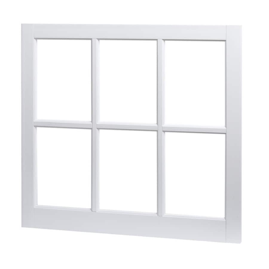 Tafco Barn Sash Rectangle Replacement Window Rough Opening 31 25 In X 29