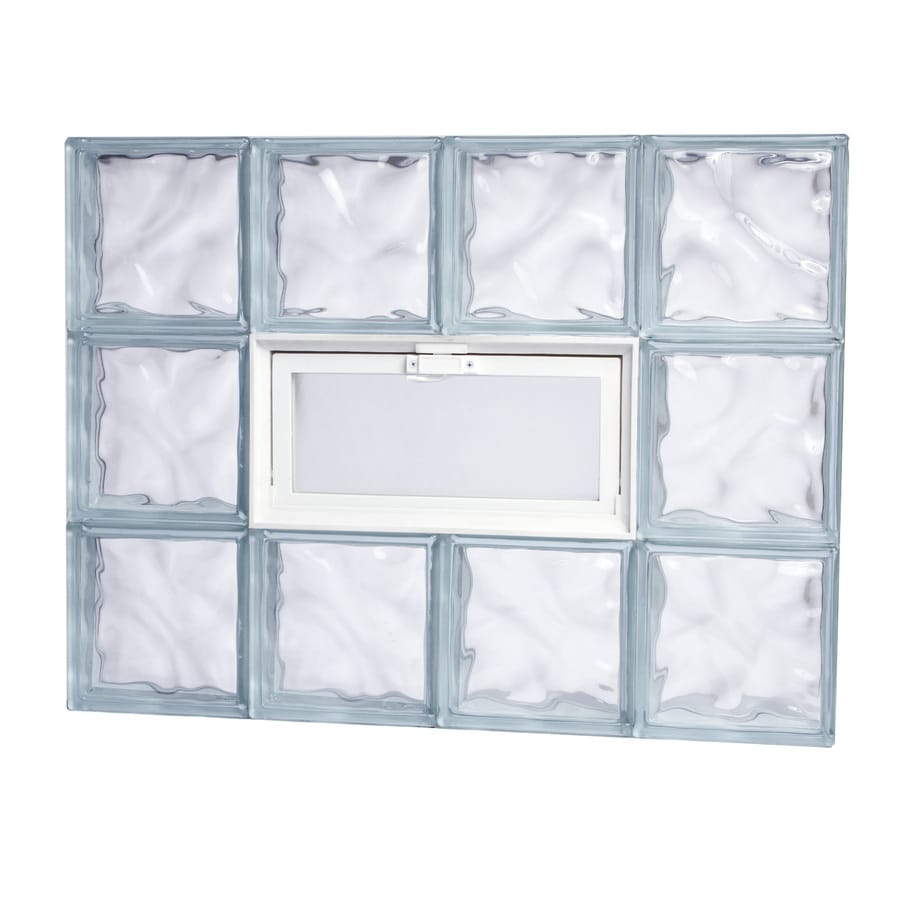 Shop Tafco 300 Series Frameless Replacement Glass Block