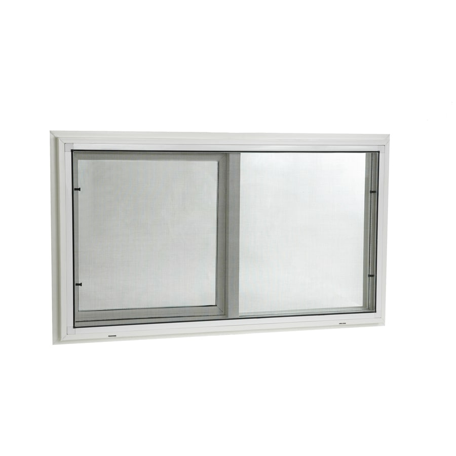 Project Source 200 Series Left Operable Vinyl Double Pane