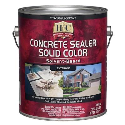 H&C Bombay Solid Concrete Stain (Gallon)