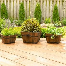 Wood Planters Stands Window Boxes At Lowescom