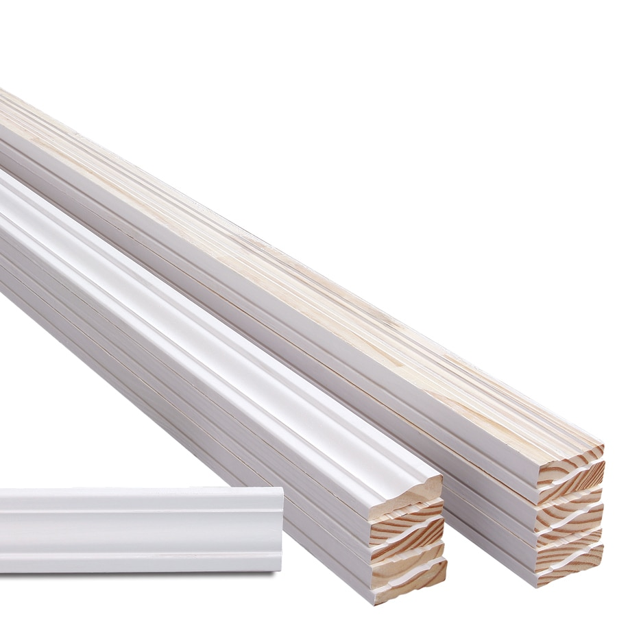 12-Pack 2.2500-in x 7-ft Interior Pine Primed Finger Joint Window and Door Casing
