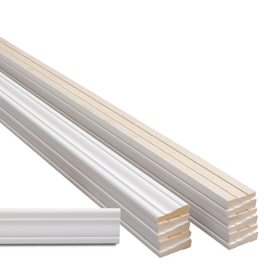 2.25-in x 14-ft Interior Primed MDF Window and Door Casing