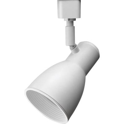 Lthstbf 1 Light Matte White Step Linear Track Lighting Head