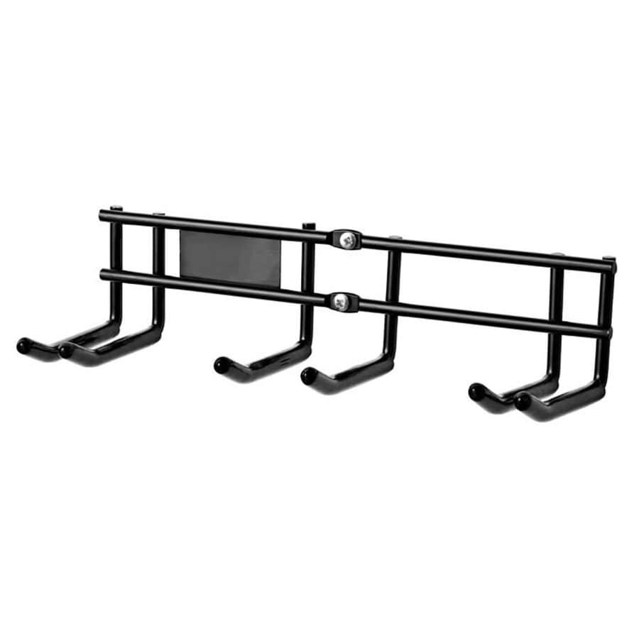 Racor 4.5-in Black Steel Ski Hanger