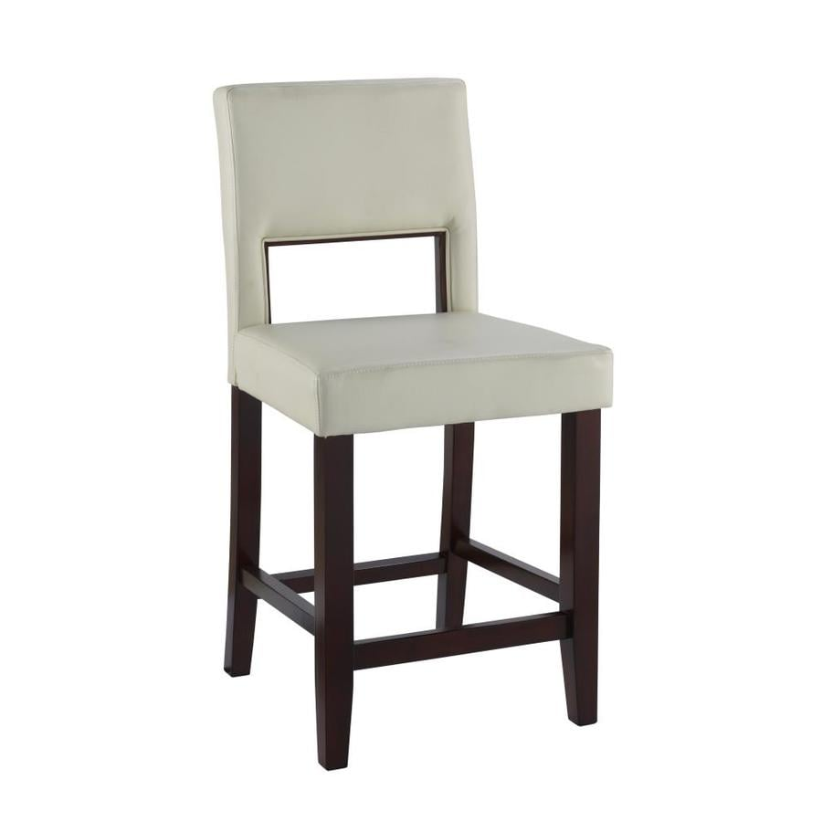 Linon Vega Espresso 24-in Counter Stool