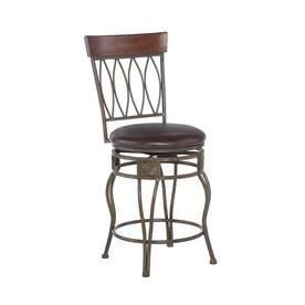 Tremendous Four Oval Back Counter Stool 24 Bar Stools At Lowes Com Frankydiablos Diy Chair Ideas Frankydiabloscom