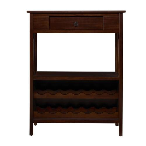 Lowe S Knotty Pine Cabinets: Linon Titian 36-in X 46-in Pine Brown Rectangle Cabinet