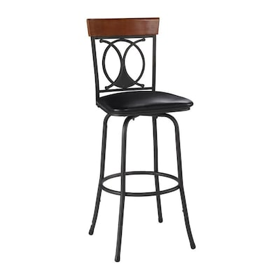 Prime Linon Brown Powder Coat Bar Stool At Lowes Com Unemploymentrelief Wooden Chair Designs For Living Room Unemploymentrelieforg