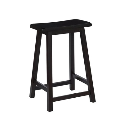 Terrific Dark Brown Counter Stool Creativecarmelina Interior Chair Design Creativecarmelinacom