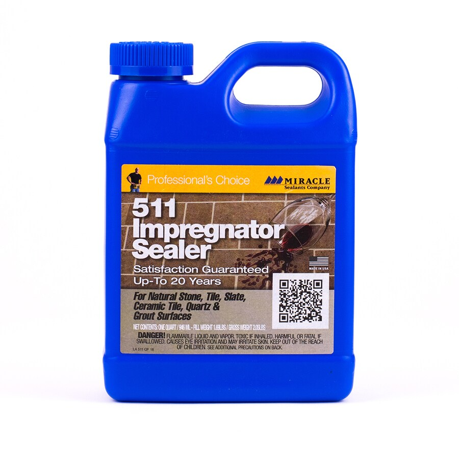 Miracle Sealants Company 511 Impregnator 32-fl oz Natural Stone Indoor Floor Sealer Pour Bottle