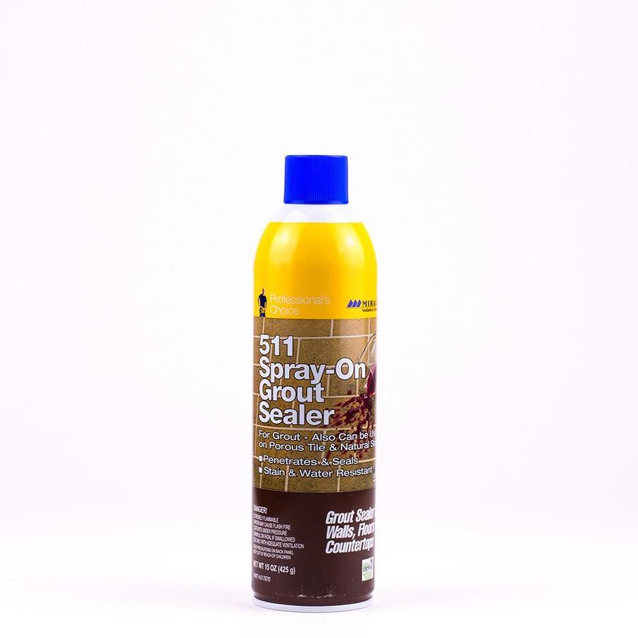 Miracle Sealants Company 15 Fl Oz Ceramic Porcelain Tile Grout Sealer Spray Bottle