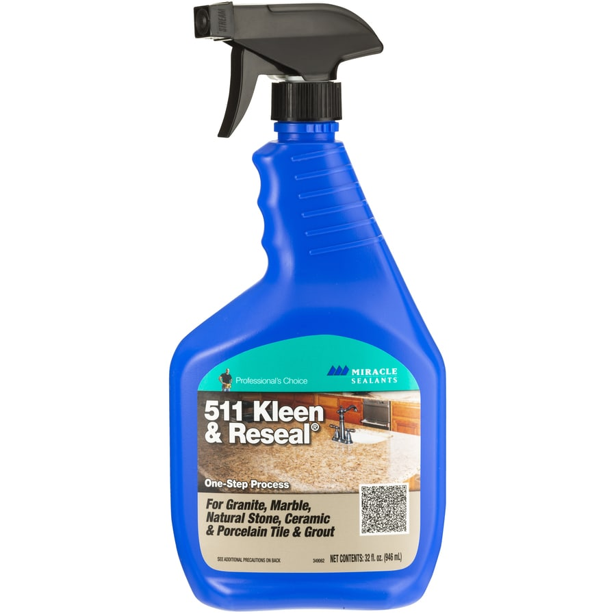 Miracle Sealants 32 Fl Oz Spray And Wipe Tile Cleaner