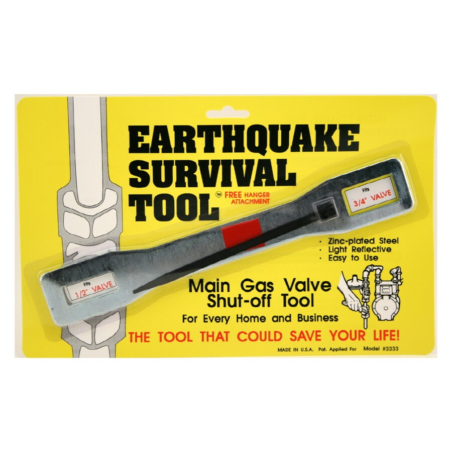 QuakeHOLD! Gas Shut Off Wrench