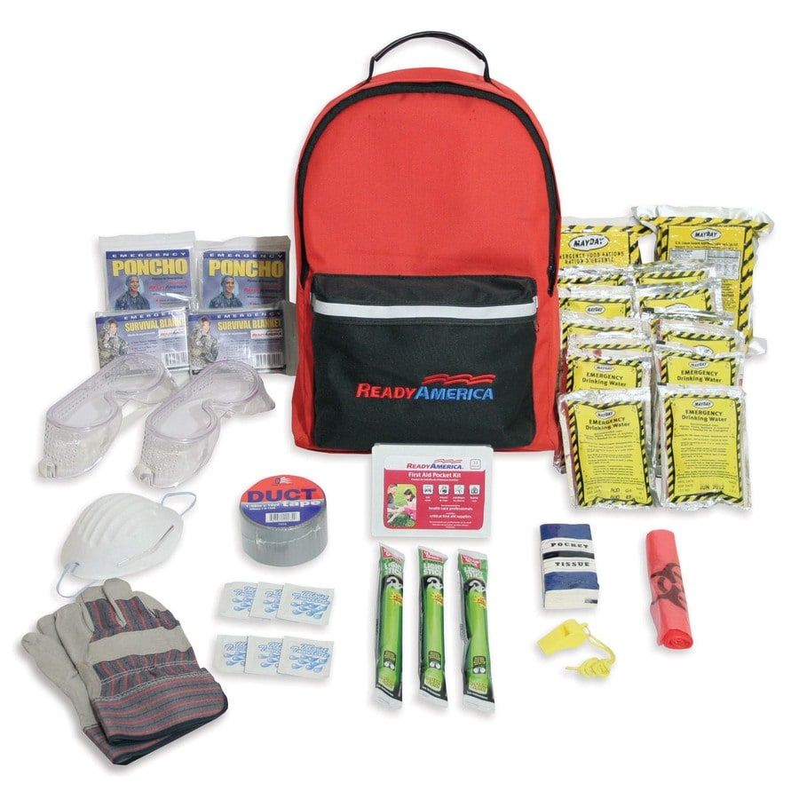 READY AMERICA 2-Person/3-Day Tornado Emergency Backpack