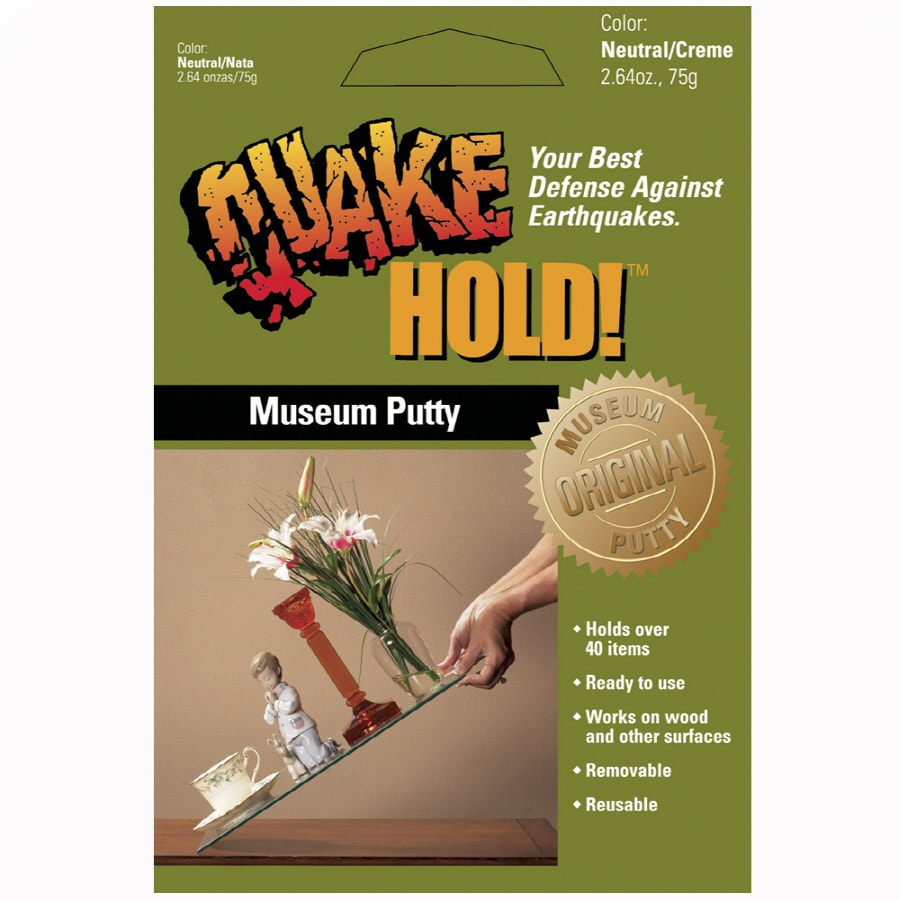 QuakeHOLD! Museum Putty
