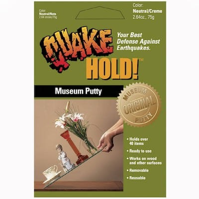 QuakeHOLD! Museum Putty at Lowes com