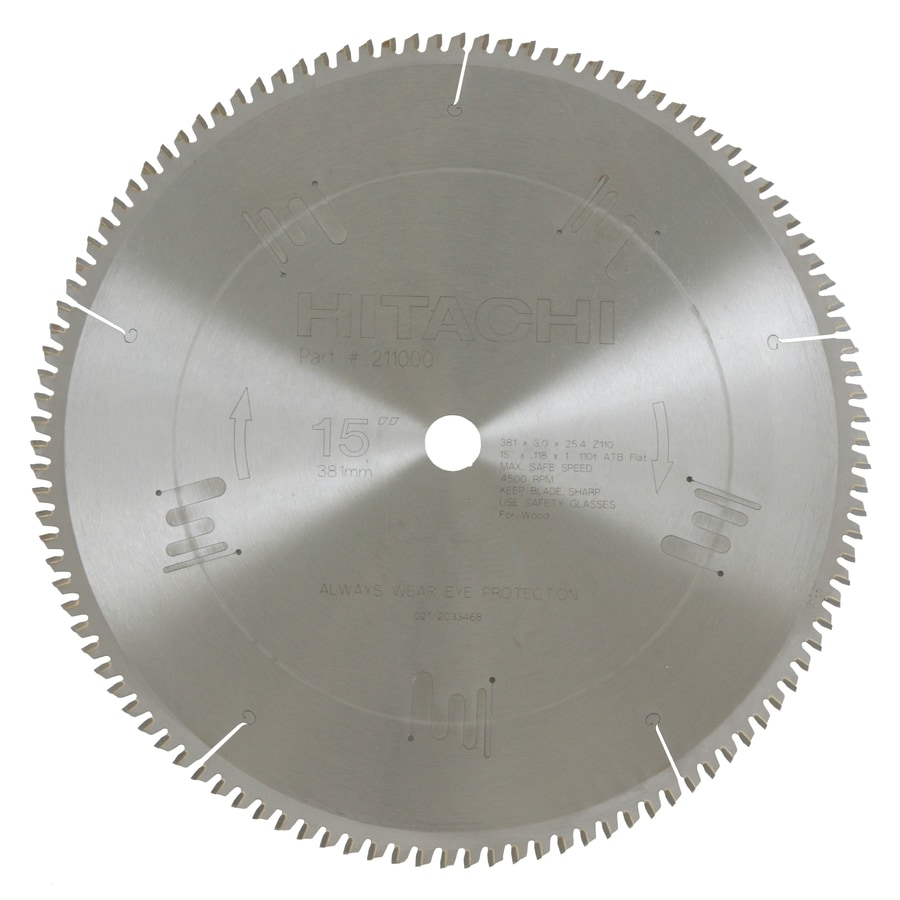 Shop hitachi 15 in miter saw blade at lowes hitachi 15 in miter saw blade keyboard keysfo Gallery