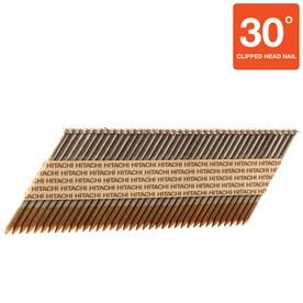 Hitachi 3-1/4-in 30-Degree Pneumatic Framing Nails (2500-Count)