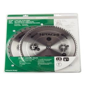 Hitachi 115400 12 in. Saw Blade Combo (2-Pack)