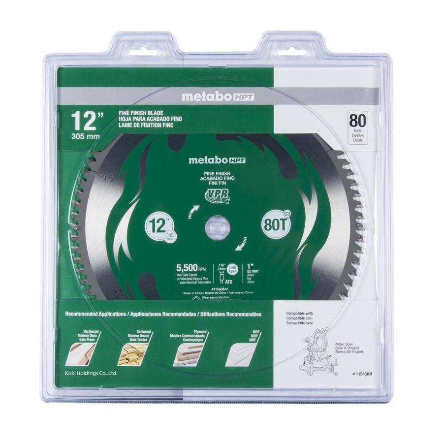 Hitachi Viper 12-in 80-Tooth Miter Saw Blade