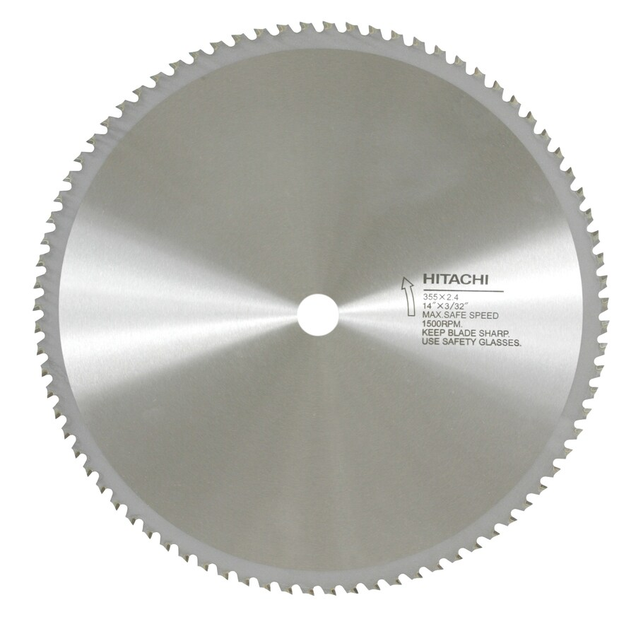 Hitachi 14-in 80-Tooth Circular Saw Blade
