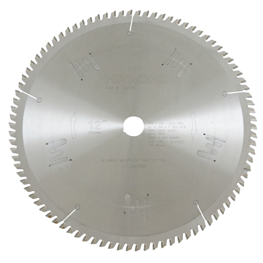 Shop hitachi 12 in miter saw blade at lowes hitachi 12 in miter saw blade greentooth Images