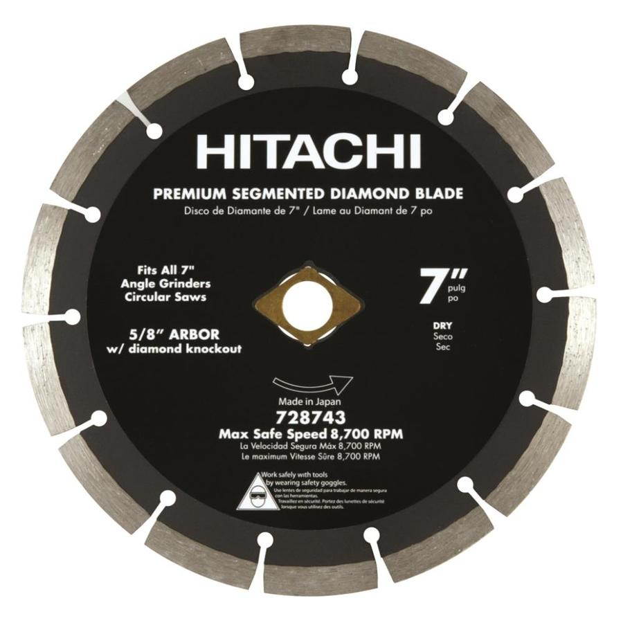 Hitachi 7-in Wet or Dry Segmented Circular Saw Blade