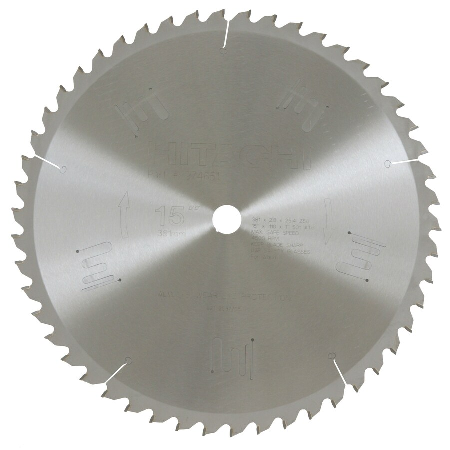 Hitachi 15-in Miter Saw Blade