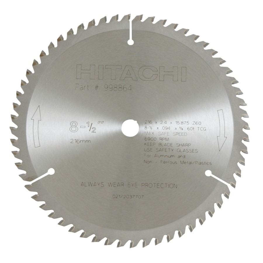 Hitachi 8-1/2-in Wet or Dry Standard Circular Saw Blade