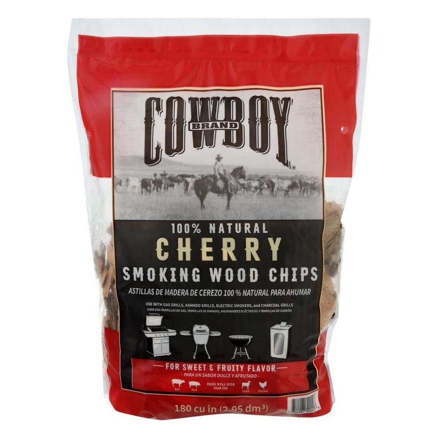 Cowboy Charcoal 180-cu in Cherry Wood Chips