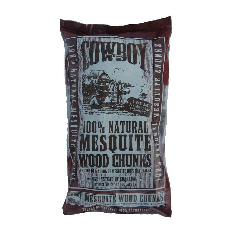 Cowboy Charcoal 700-cu in Mesquite Wood Chunks