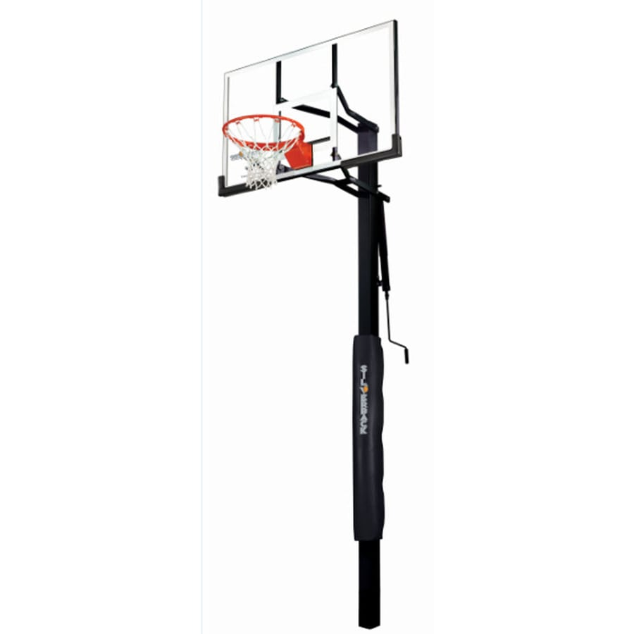 Silverback Outdoor In Ground 54 Backboard Basketball System