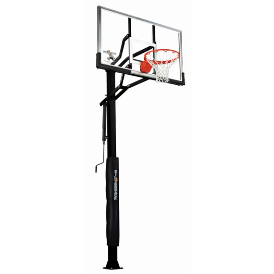 Silverback Outdoor In-Ground 60-in Backboard Basketball System