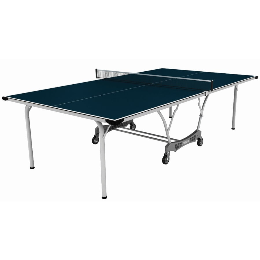 shop stiga 108 in indoor outdoor freestanding ping pong table at. Black Bedroom Furniture Sets. Home Design Ideas