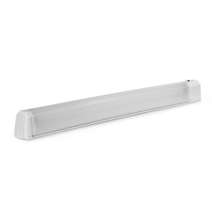 Fluorescent Under Cabinet Lighting Kitchen: Shop Utilitech 27.125-in Plug-in Under Cabinet Fluorescent