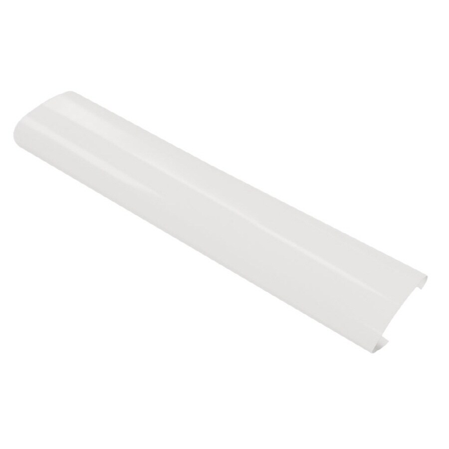 Fluorescent Light Fixture Covers Replacement: Shop Good Earth Lighting White Replacement Lens At Lowes.com