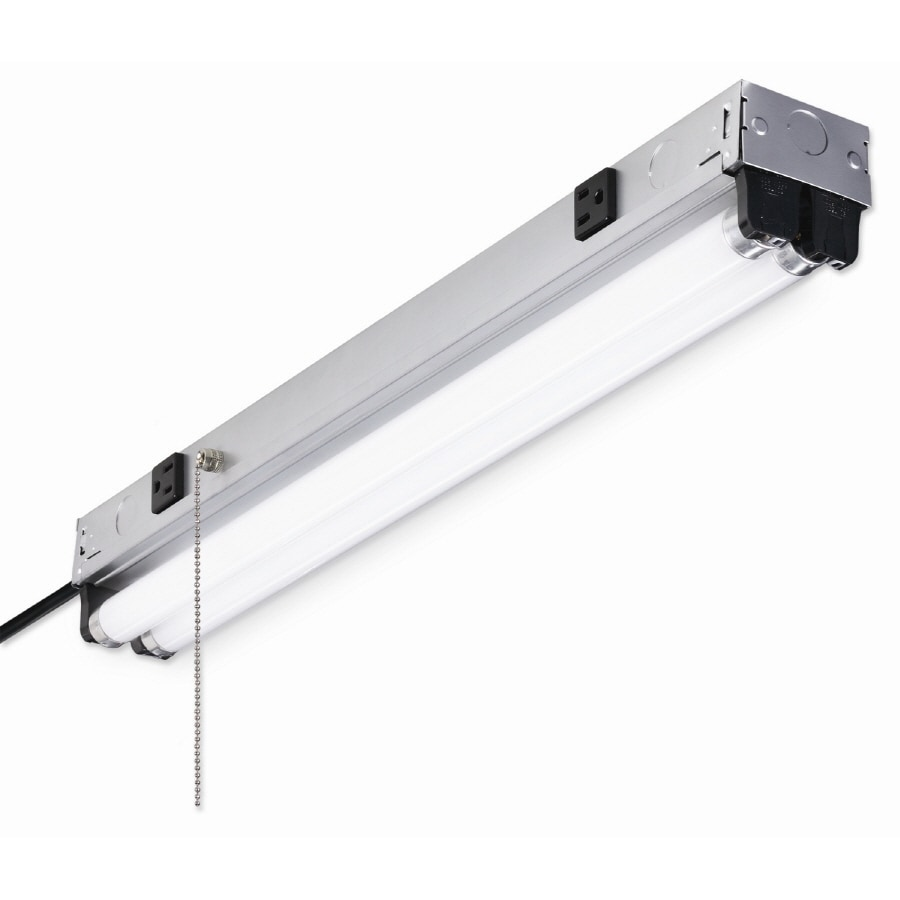 Utilitech 3-1/2-in Fluorescent Shop Light