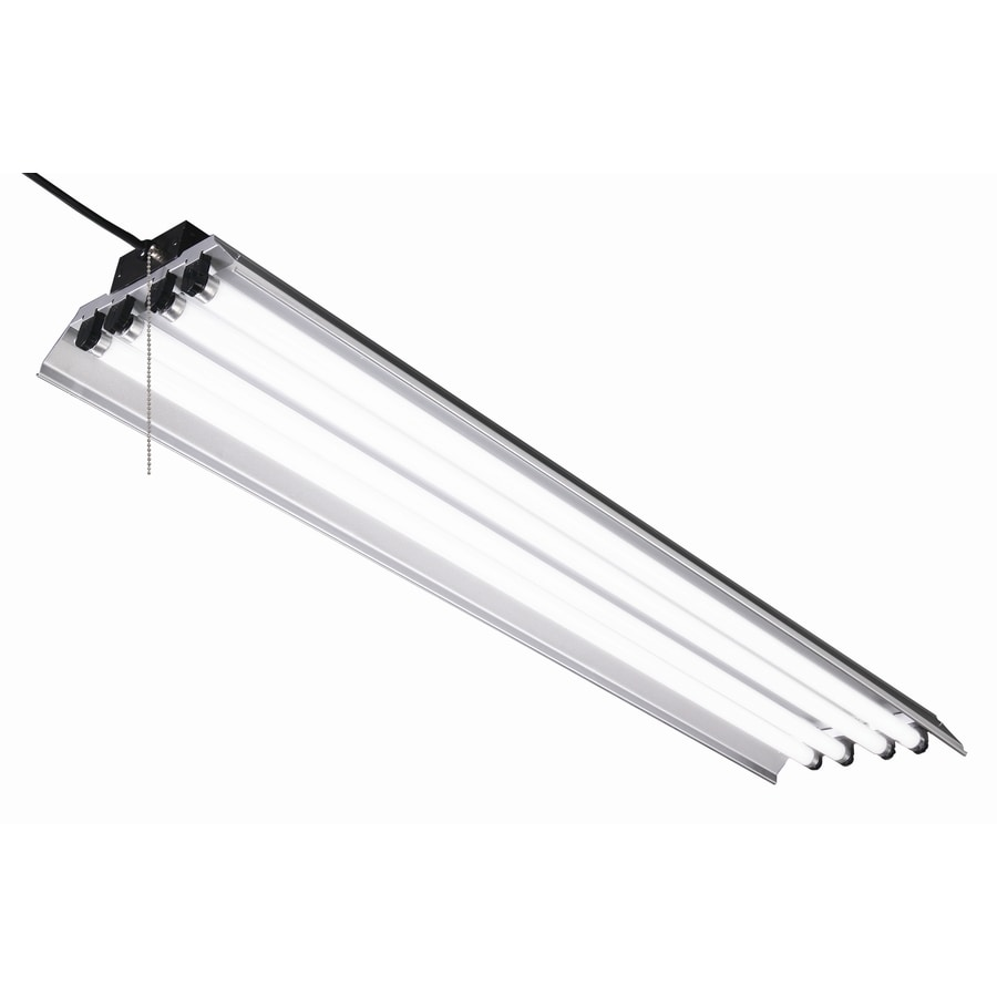 Shop shop lights at lowes utilitech linear shop light common 4 ft actual 12 in arubaitofo Image collections