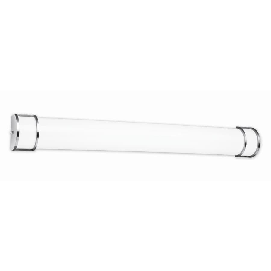 Good Earth Lighting New Castle 2-Light 6-in White Cylinder Vanity Light