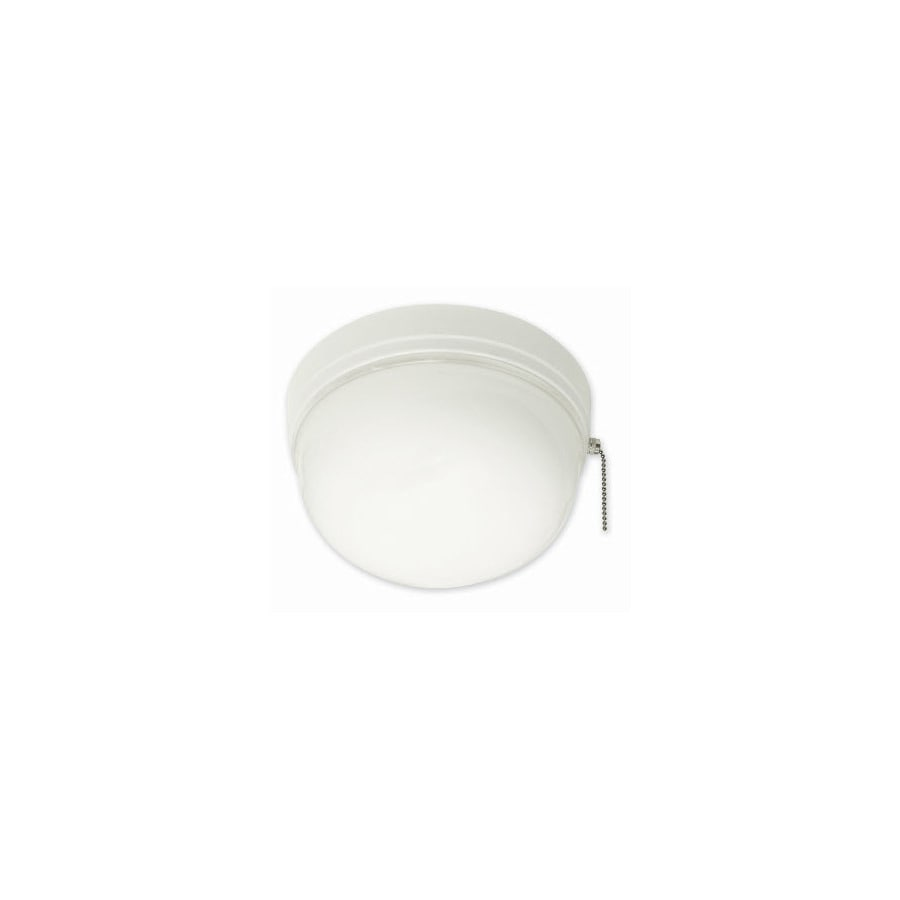 Portfolio White Acrylic Flush Mount Fluorescent Light (Common: 1.5-ft; Actual: 8.37-in)