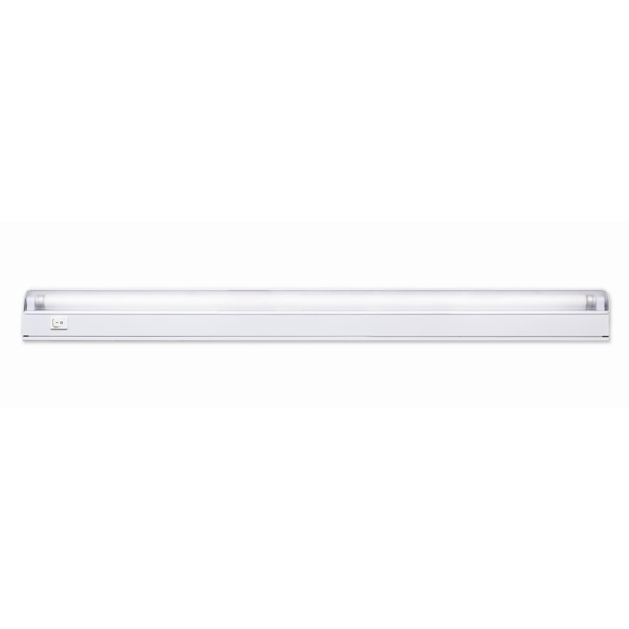 Shop fluorescent under cabinet lights at lowes portfolio 2287 in hardwired under cabinet fluorescent light bar mozeypictures Choice Image