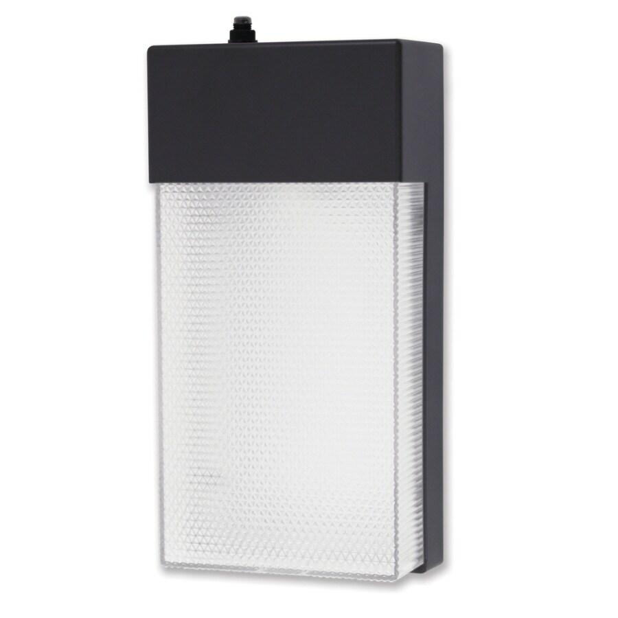 Utilitech 13-Watt Bronze Dusk-To-Dawn Security Light