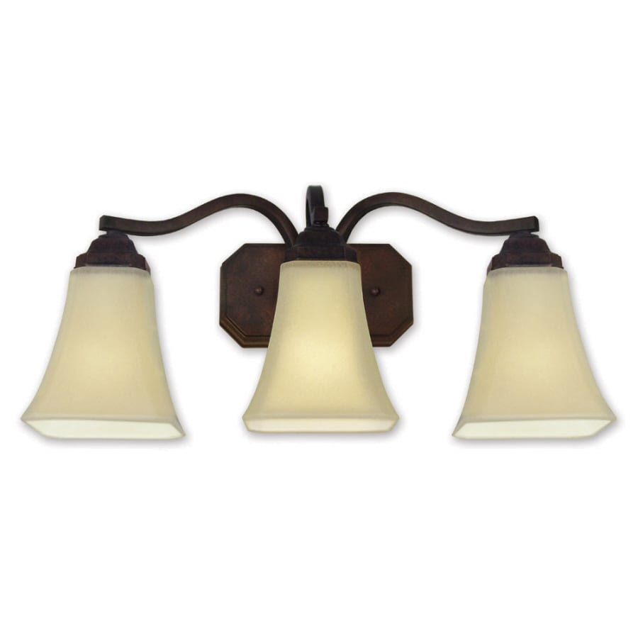 Good Earth Lighting Metropolitan 3-Light 11.1-in Bronze Vanity Light