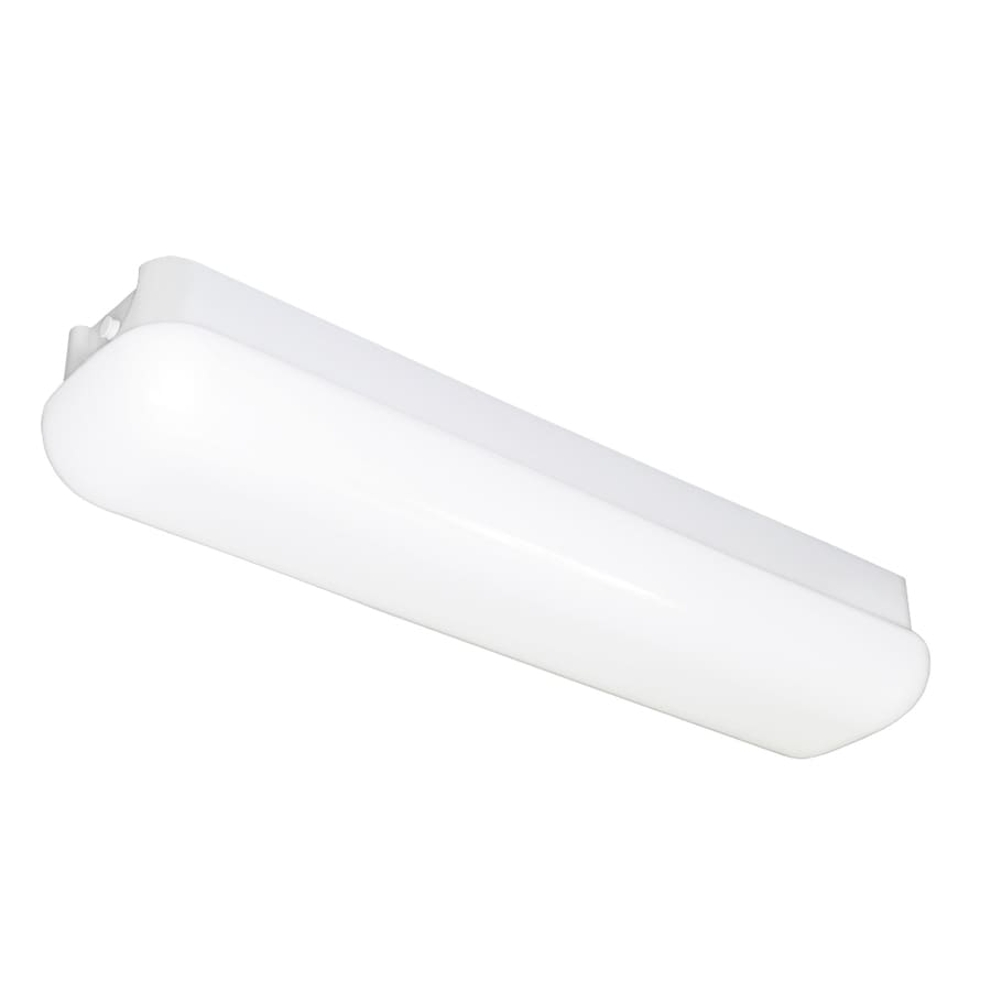 Portfolio White Acrylic Ceiling Fluorescent Light (Common: 2-ft; Actual: 26.5-in)
